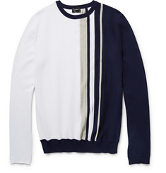 Jil Sander Striped Cotton Sweater