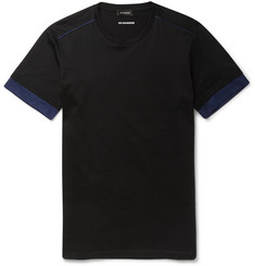 Jil Sander Contrast-Trimmed Cotton T-Shirt