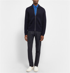 Balenciaga Cotton-Blend Poplin Shirt