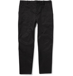 Balenciaga Panelled Cotton-Twill Chinos