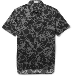 Balenciaga Printed Cotton Short-Sleeved Shirt