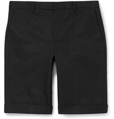 Balenciaga Slim-Fit Cotton Shorts