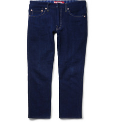 Junya Watanabe Levi's Slim-Fit Patchwork Denim Jeans