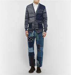 Junya Watanabe Cotton and Linen-Blend Cardigan