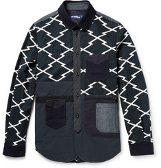 Junya Watanabe Patchwork Printed Cotton Jacket