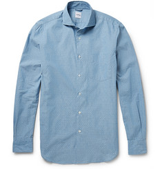 Aspesi Dobby Cotton-Chambray Shirt