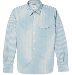 Aspesi Slim-Fit Striped Cotton Shirt