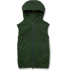 Aspesi Hooded Lightweight Cycling Gilet
