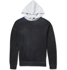 Massimo Alba Hand-Painted Watercolour-Dyed Cashmere Hoodie