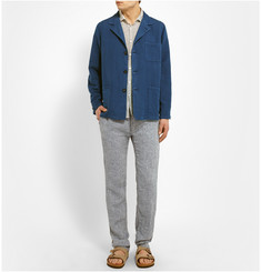 Massimo Alba Unstructured Linen and Cotton-Blend Jacket