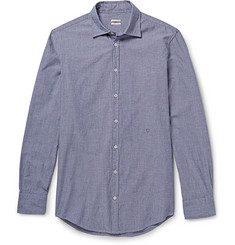 Massimo Alba Slim-Fit Cotton-Chambray Shirt