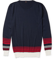 MP di Massimo Piombo Striped Cotton Sweater