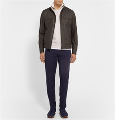 Loro Piana Reversible Leather and Storm System® Jacket