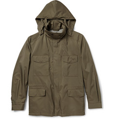 Loro Piana Storm System® Traveller Lightweight Cashmere-Lined Jacket
