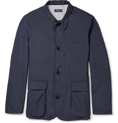 Loro Piana Storm System® Roadster Waterproof Silk-Lined Blazer