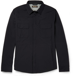 Loro Piana Storm System® Waterproof Silk and Cashmere-Lined Jacket
