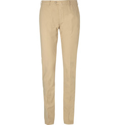 Loro Piana Slim-Fit Cotton-Blend Trousers