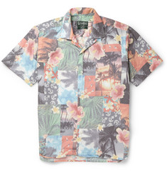 Gitman Vintage Printed Cotton Shirt