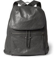 Balenciaga - Creased-Leather Backpack