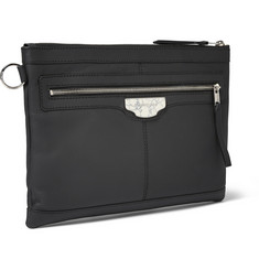 Balenciaga Matte-Leather Pouch