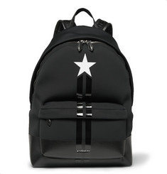 Givenchy Stripe-Trimmed Neoprene Backpack