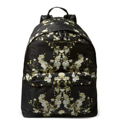 Givenchy Floral-Print Canvas Backpack