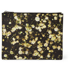 Givenchy Printed Faux Leather Pouch