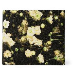 Givenchy Floral Print-Faux Leather Billfold Wallet