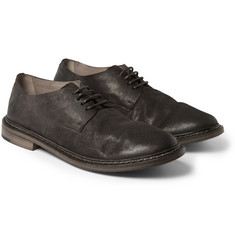 Marsell Washed-Leather Derby Shoes