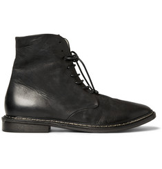 Marsell Washed-Leather Boots