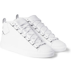 Balenciaga Arena Leather High Top Sneakers