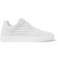 Balenciaga Perforated-Leather Sneakers