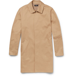 A.P.C. Cotton-Gabardine Raincoat