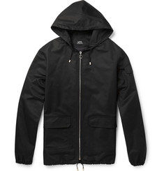 A.P.C. Iceland Waterproof Cotton-Blend Jacket