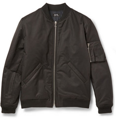 A.P.C. Cotton-Blend Bomber Jacket