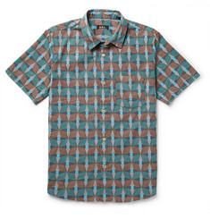 A.P.C. Slim-Fit Printed Cotton Shirt