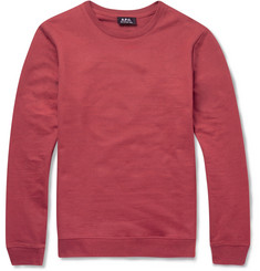 A.P.C. Cotton-Jersey Sweatshirt
