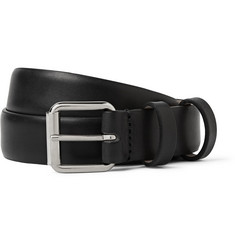 A.P.C. Black 2.5cm Leather Belt