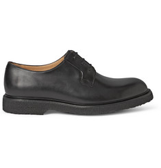 A.P.C. Polished-Leather Derby Shoes
