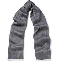 Loro Piana Linen and Cashmere-Blend Scarf