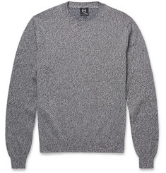 McQ Alexander McQueen Marled Cotton Sweater