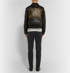 McQ Alexander McQueen Two-Tone Leather Backpack