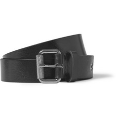 McQ Alexander McQueen Black 3cm Leather Belt