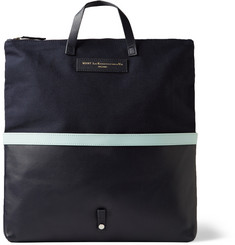 WANT Les Essentiels de la Vie Peretola Canvas and Leather Convertible Tote