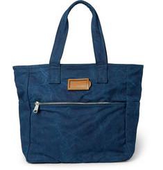 Marc by Marc Jacobs Leather-Trimmed Cotton Tote