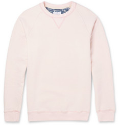 Hentsch Man Washed Cotton-Jersey Sweater