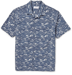Hentsch Man Printed Cotton Shirt