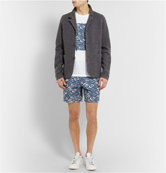 Hentsch Man Printed Cotton Shorts