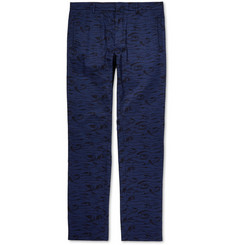 Hentsch Man Tapered Printed Cotton Trousers