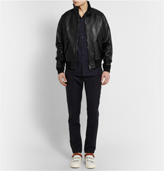 Acne Studios Ashton Leather Bomber Jacket